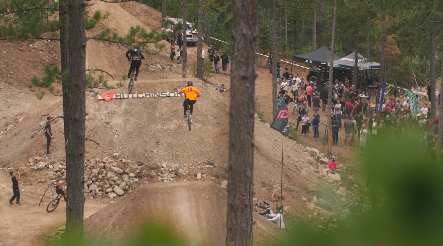 Griffus Line by Hutchinson at Evo Bike Park